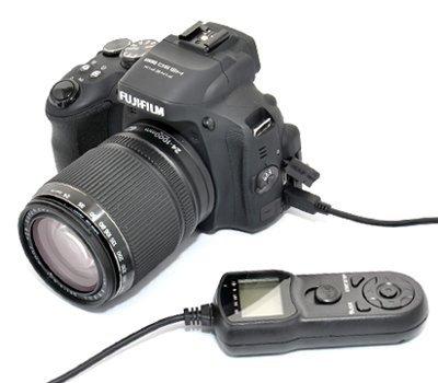 JJC spoušť kabelová s časosběrem TM-O (RR-80A) pro Fujifilm HS50EXR