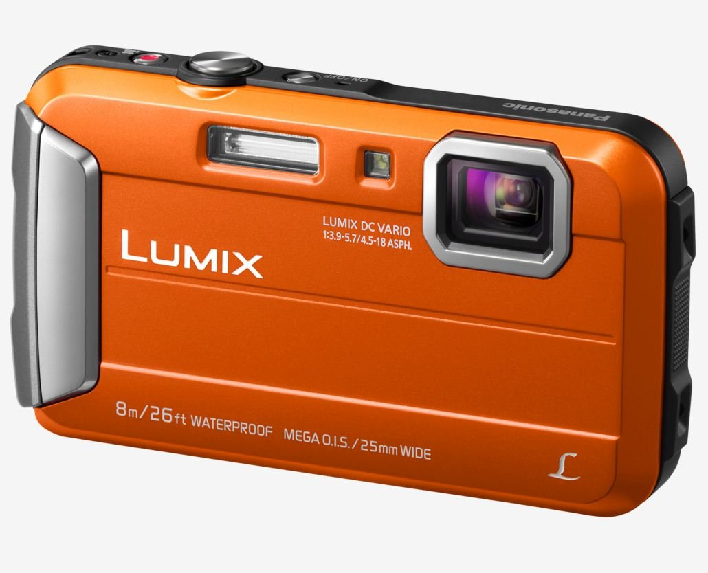 PANASONIC Lumix DMC-FT30 oranžový + SDHC 8GB