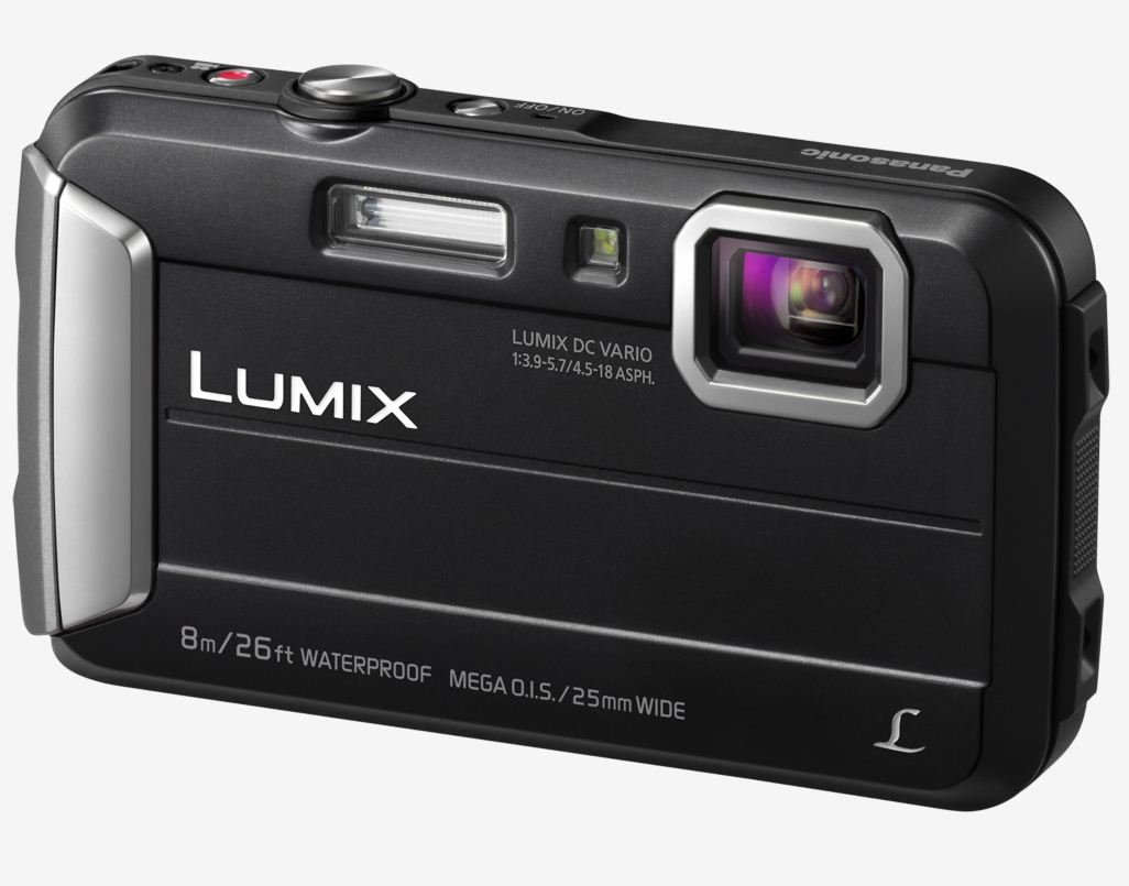 PANASONIC Lumix DMC-FT30 černý + SDHC 8GB