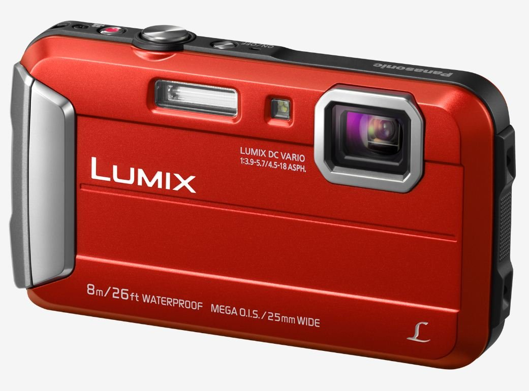 PANASONIC Lumix DMC-FT30 červený + SDHC 8GB