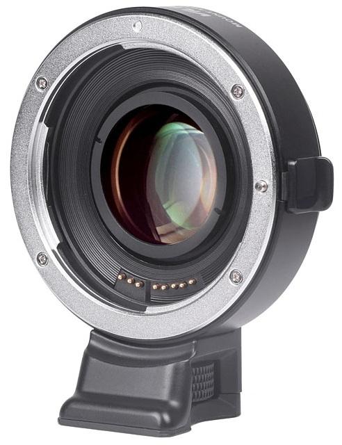 VILTROX EF-EII adaptér objektivu Canon EF na tělo Sony E (APS-C) Speed Booster 0,71x