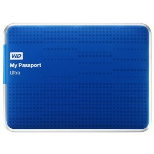 "WD MY PASSPORT ULTRA 2TB Ext. 2.5"" USB3.0, modrý"