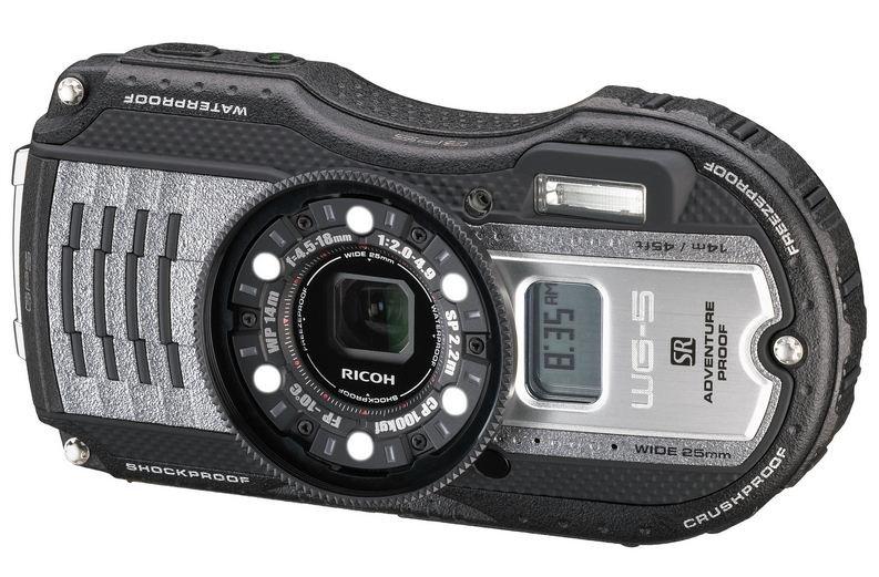 RICOH WG-5 GPS šedý