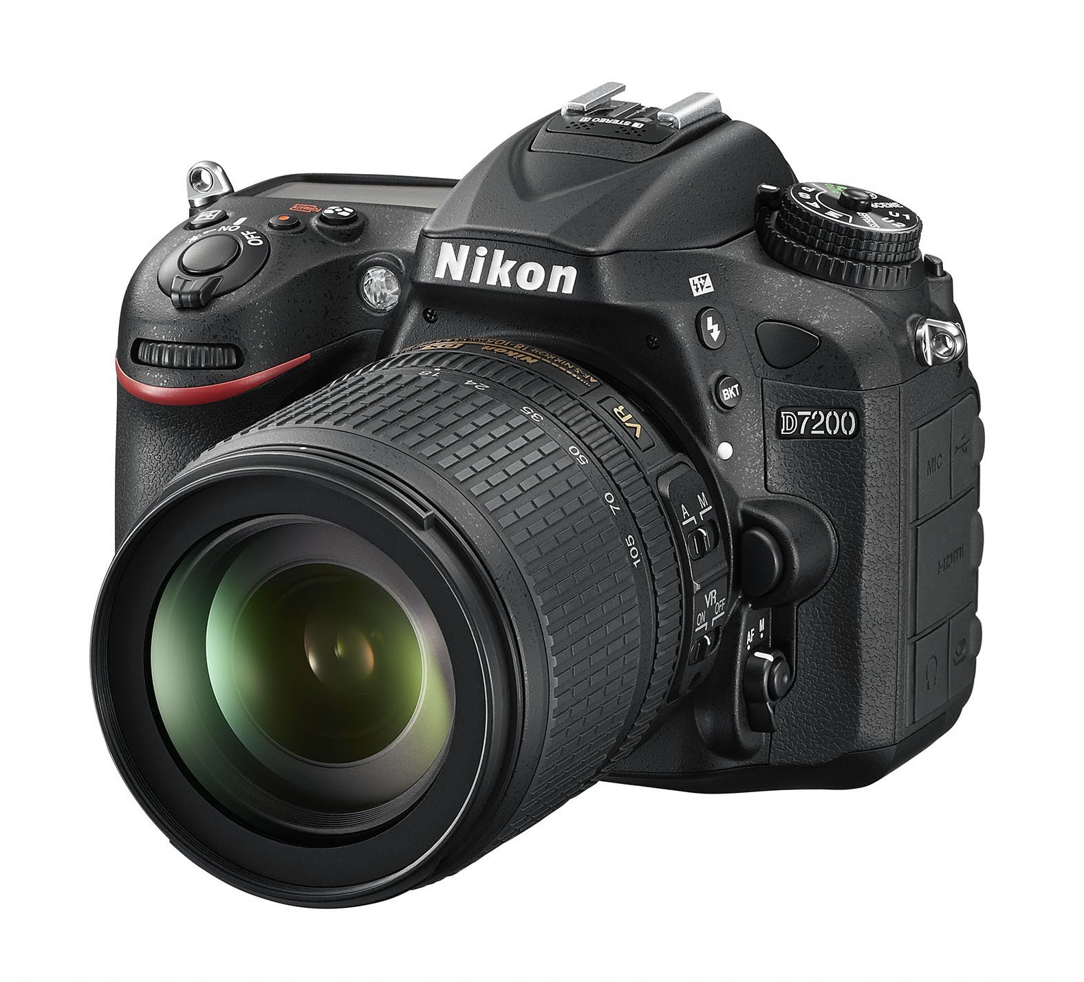 NIKON D7200 + 18-105 mm VR + získejte zpět 2700 Kč