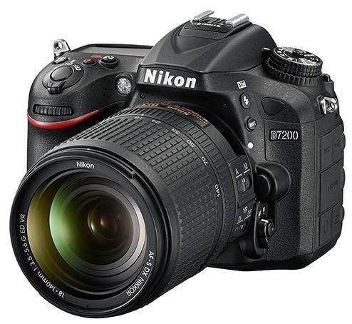 NIKON D7200 + 18-140 mm VR + získejte zpět 2700 Kč
