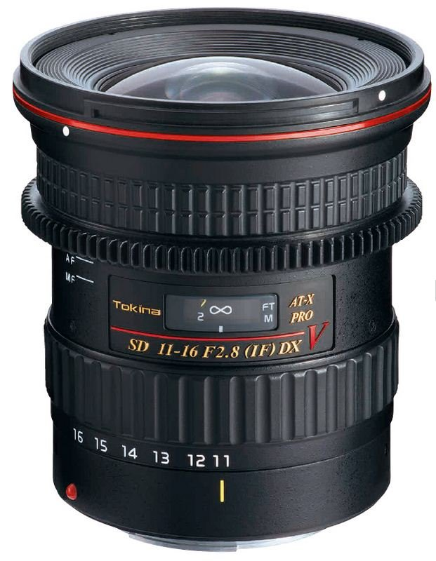 TOKINA 11-16 mm f/2,8 AT-X SD PRO IF Video DX pro Nikon F