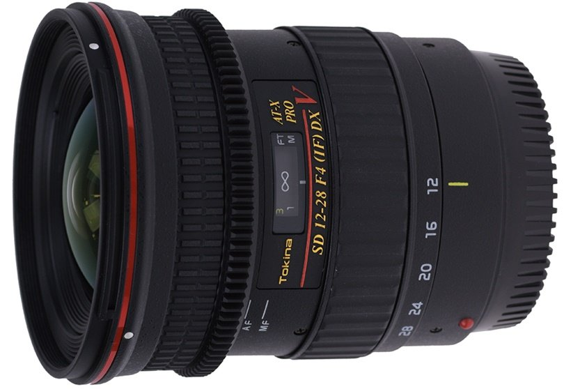 TOKINA 12-28 mm f/4 AT-X SD PRO IF DX Video pro Canon