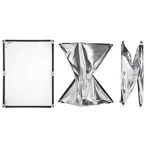 FOMEI Quick Clap Slip 1 x 1,5 m Silver/White