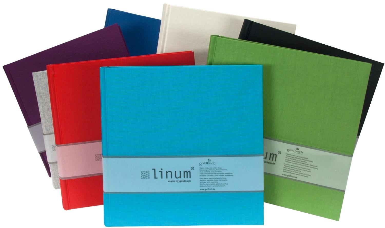 GOLDBUCH LINUM klasické/80 stran, 25x25, mix barev