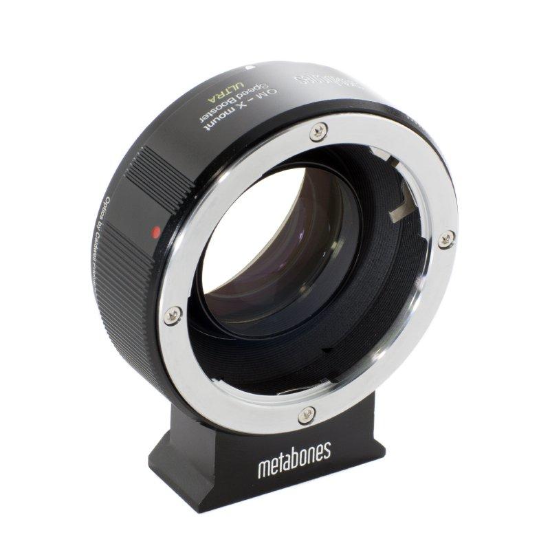 METABONES adaptér objektivu Olympus OM na Fujifilm X Speed Booster Ultra