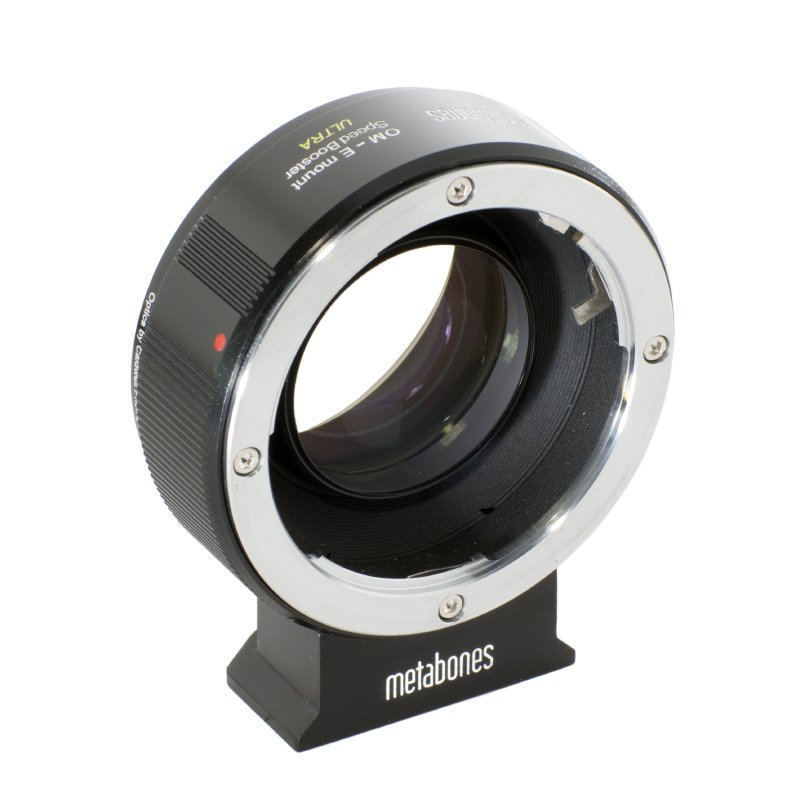 METABONES adaptér objektivu Olympus OM na Sony NEX Speed Booster
