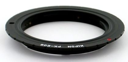 B.I.G. adaptér objektivu Pentax K na tělo Canon EOS (APS-C)
