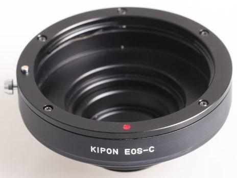 KIPON adaptér objektivu Canon EOS na tělo C-mount