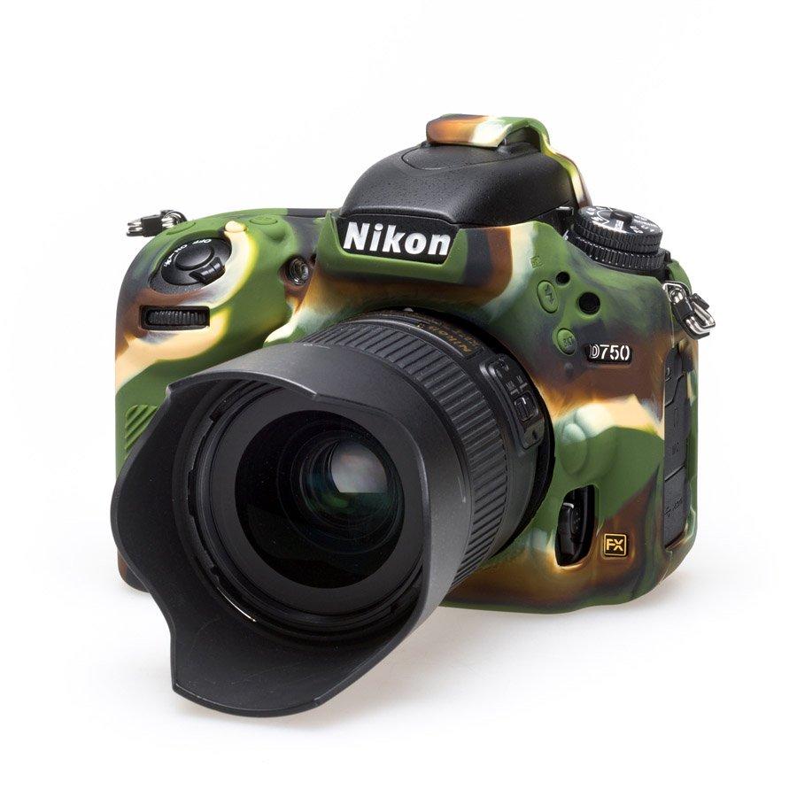 EASYCOVER silikonové pouzdro pro Nikon D750 Camouflage