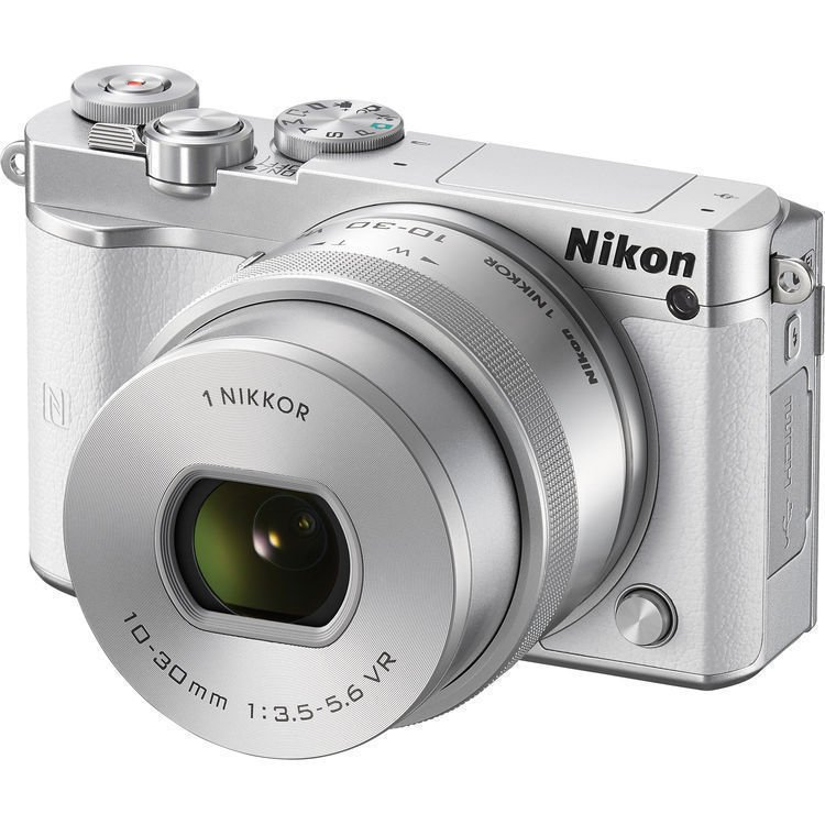 NIKON 1 J5 bílý + 10-30 mm VR PD-ZOOM