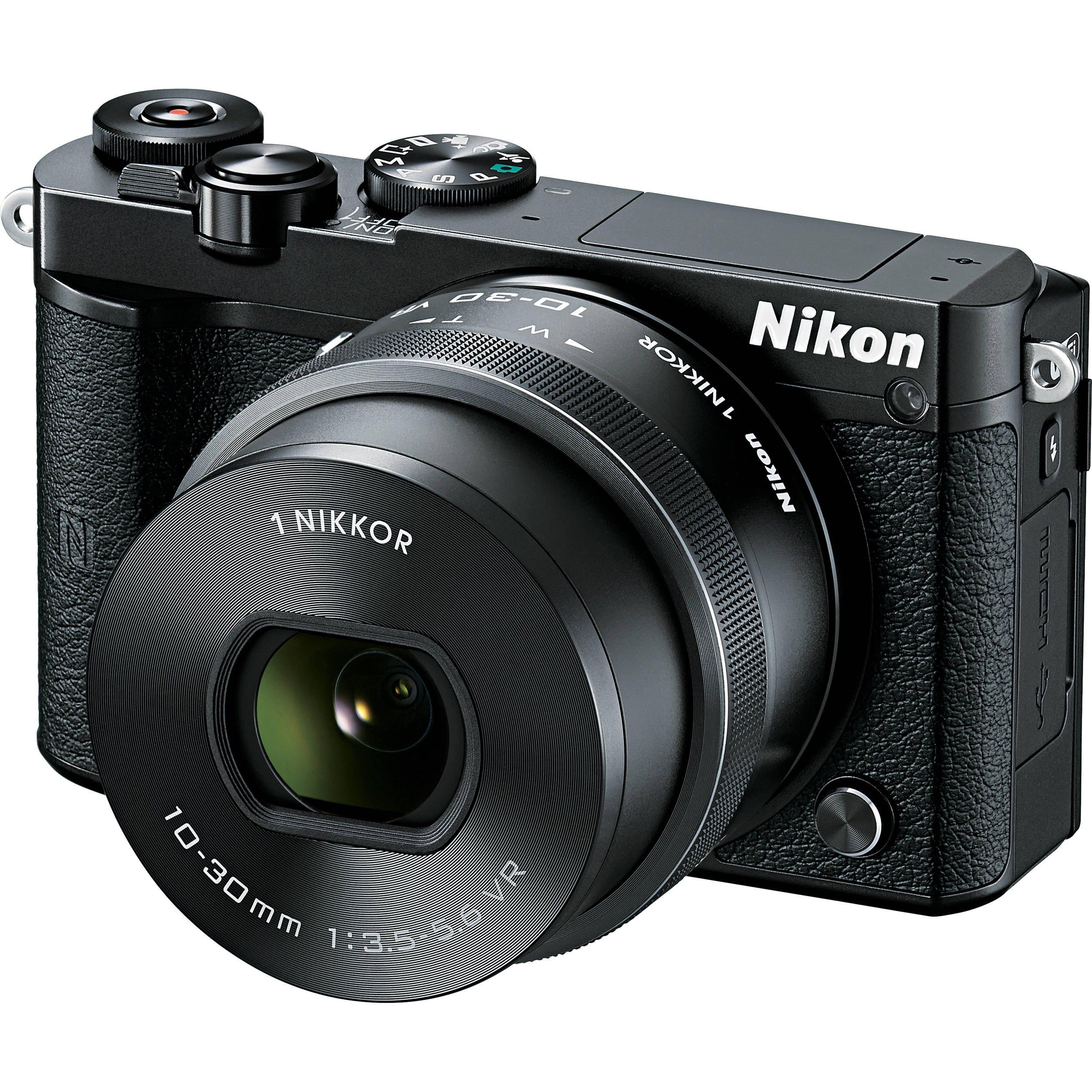 NIKON 1 J5 černý + 10-30 mm VR PD-ZOOM