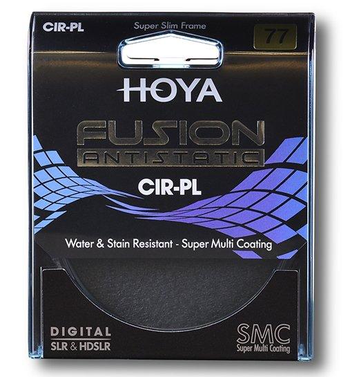 HOYA filtr polarizační cirkulární FUSION ANTISTATIC 82 mm