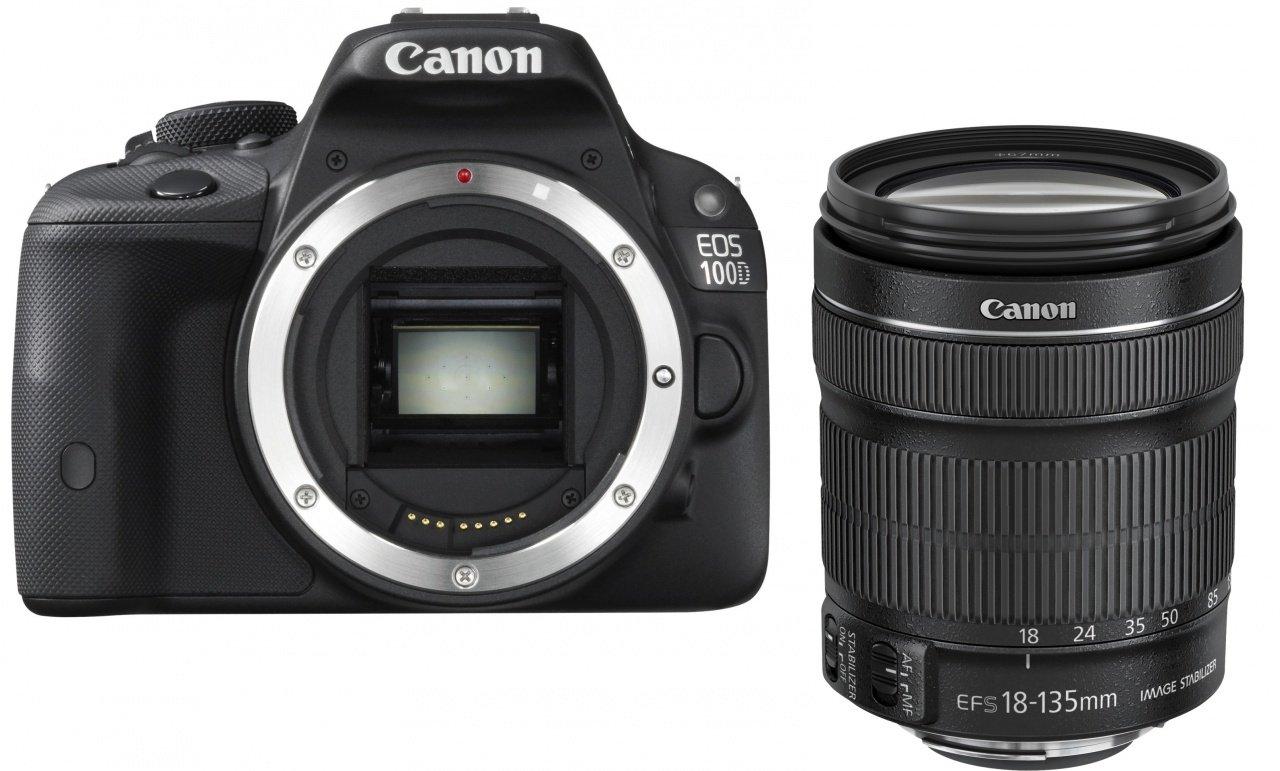 CANON EOS 100D + EF-S 18-135 IS STM + získejte zpět 1300Kč