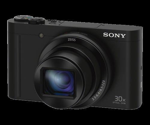 SONY CyberShot DSC-WX500 černý
