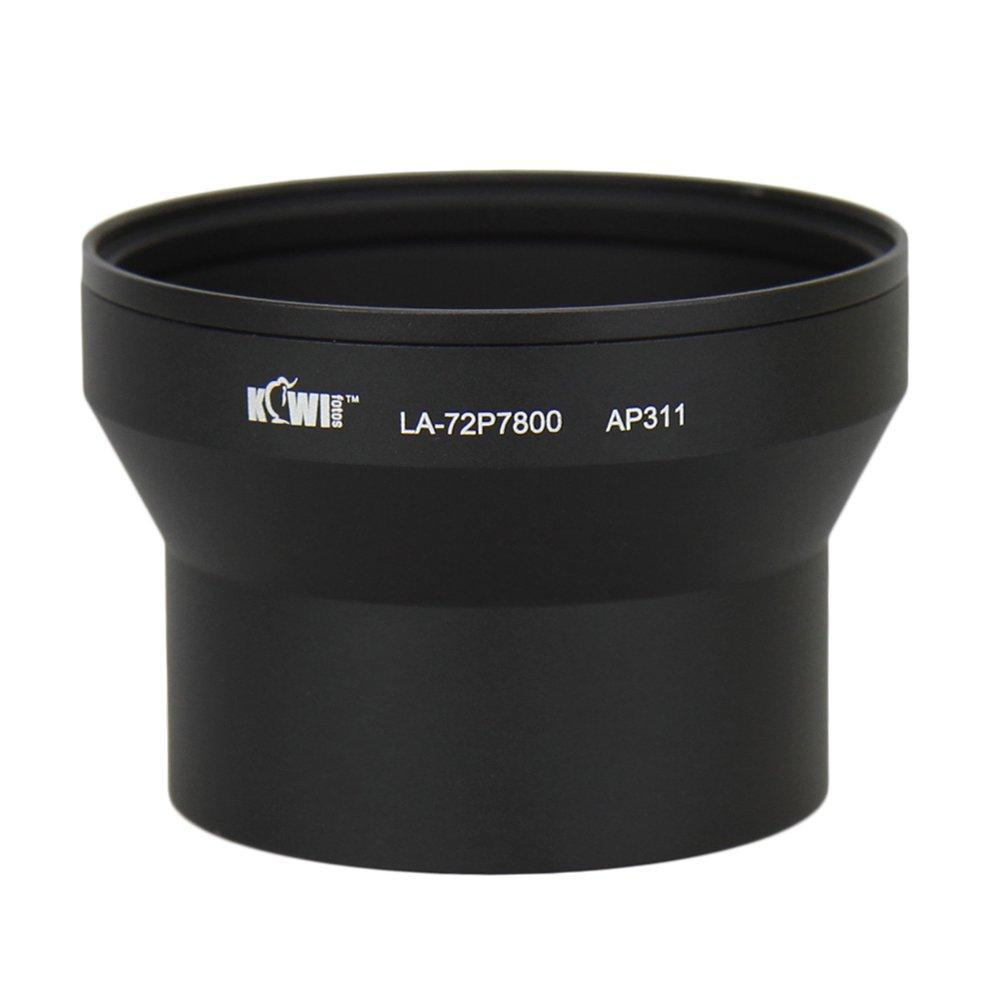 KIWI redukční tubus 72 mm LA-P7800 pro Nikon P7700/7800