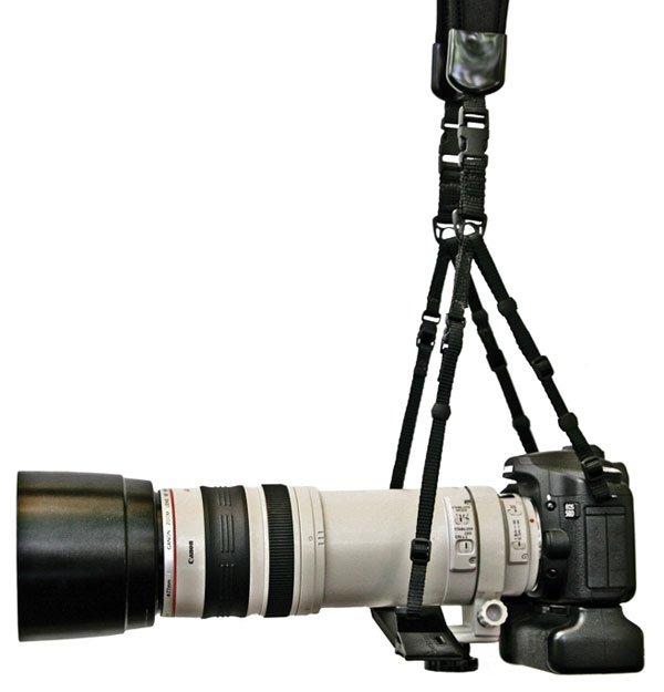 DELUXGEAR Neo Duet Camera Strap -  popruh dvojitý