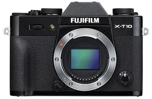 FUJIFILM X-T10 černý + Lexar SDHC 32 GB zdarma + získejte zpět 2800 Kč