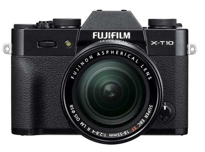 FUJIFILM X-T10 černý + XF 18-55 mm + Lexar SDHC 32 GB + získejte zpět 2800 Kč
