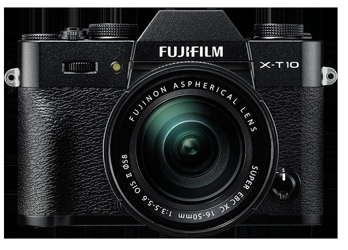 FUJIFILM X-T10 černý + 16-50 mm + Lexar SDHC 32 GB + získejte zpět 2800 Kč