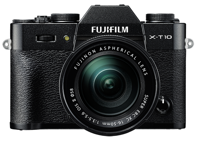 FUJIFILM X-T10 černý + 16-50 mm