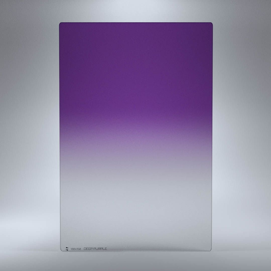 RAY MASTERS filtr Deep Purple 100x150 mm