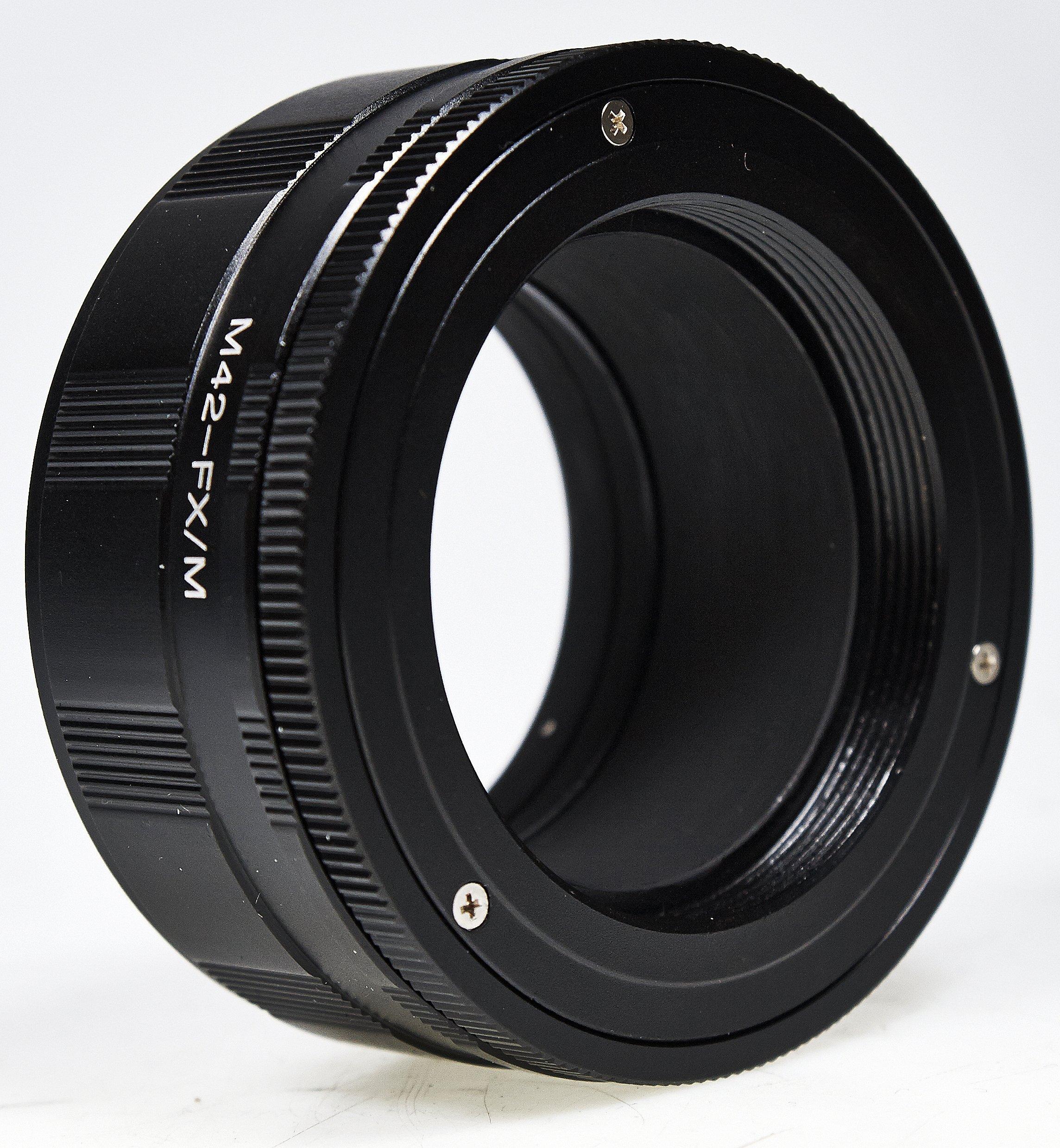B.I.G. adaptér objektivu M42 na tělo Fujifilm X s funkcí makro
