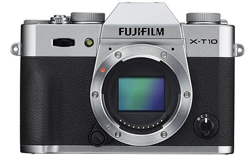 FUJIFILM X-T10 stříbrný + Lexar SDHC 32 GB zdarma