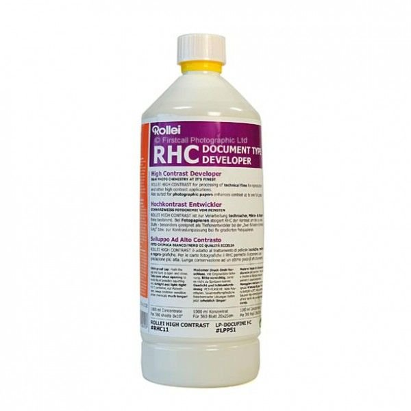 ROLLEI RHC High Contrast negativní tekutá vývojka 1 l