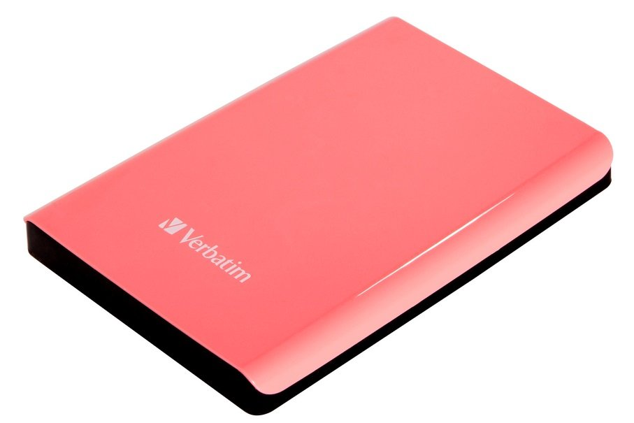 "VERBATIM HDD 2,5"" 1TB USB 3.0 růžový"