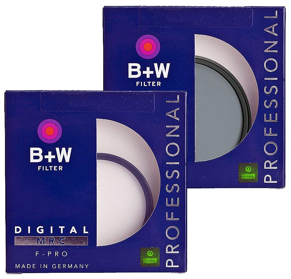 B+W set filtrů UV + CPL F-Pro MRC 58 mm