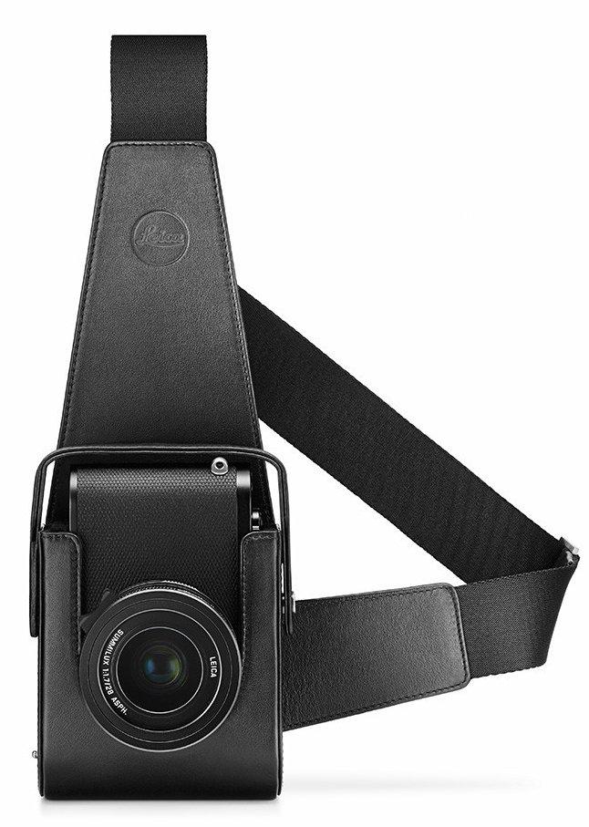 LEICA pouzdro Holster kožené černé pro Leicu Q
