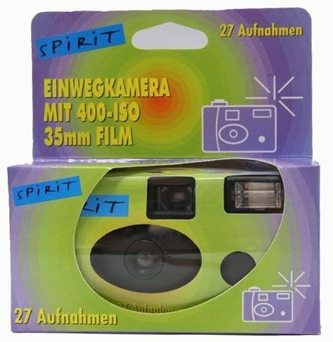 """RINGFOTO jednorázový fotoaparát s bleskem """"Spirit"""" 400-27sn."""