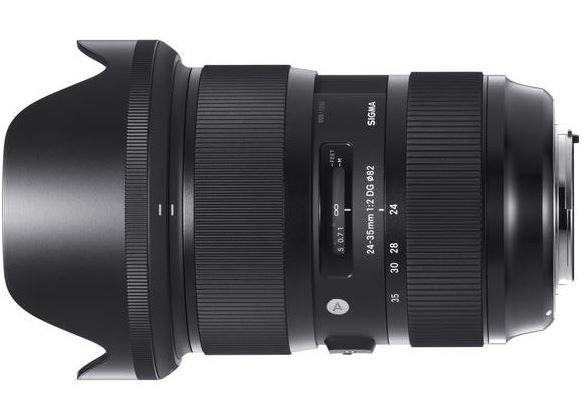 SIGMA 24-35 mm f/2 DG HSM Art pro Canon