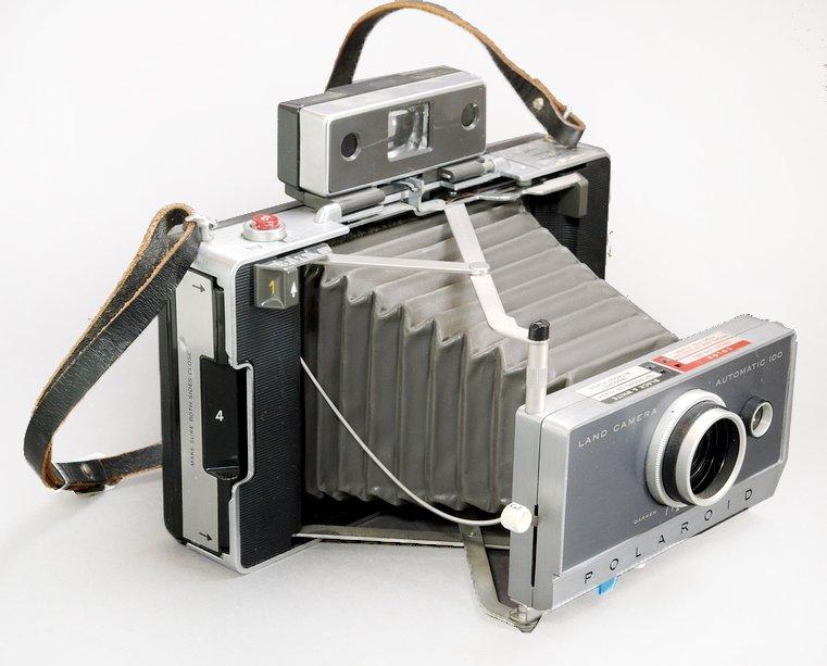POLAROID Land Camera 100 Automatic - REPASOVANÝ PŘÍSTROJ záruka 6 měsíců