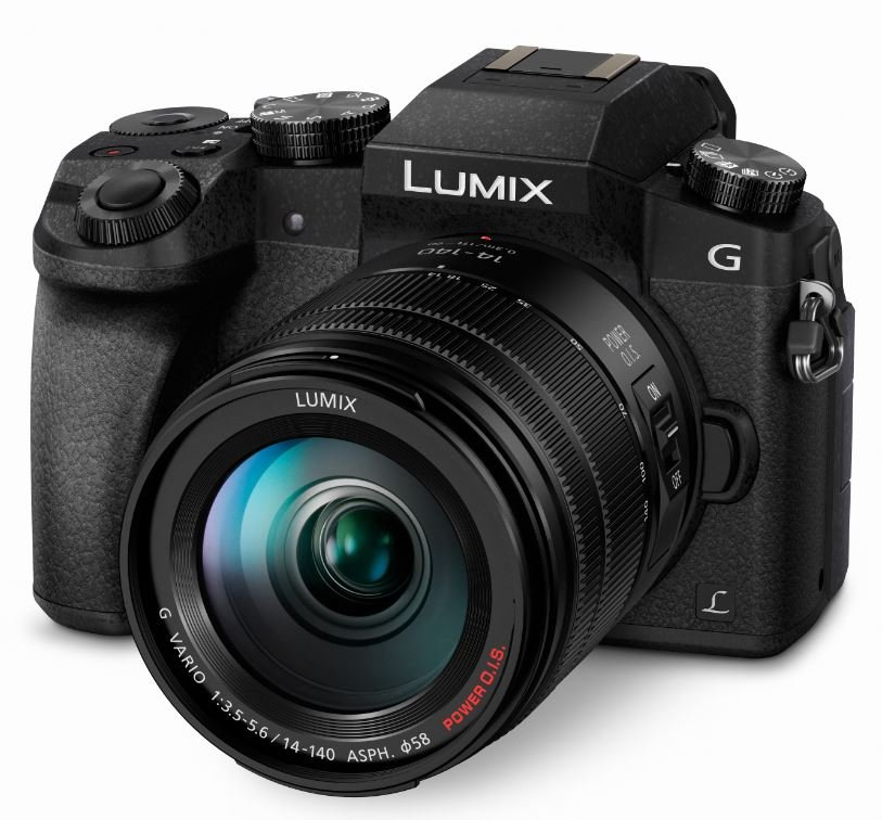 PANASONIC Lumix DMC-G7 + 14-140 mm černý + získejte zpět 2000Kč