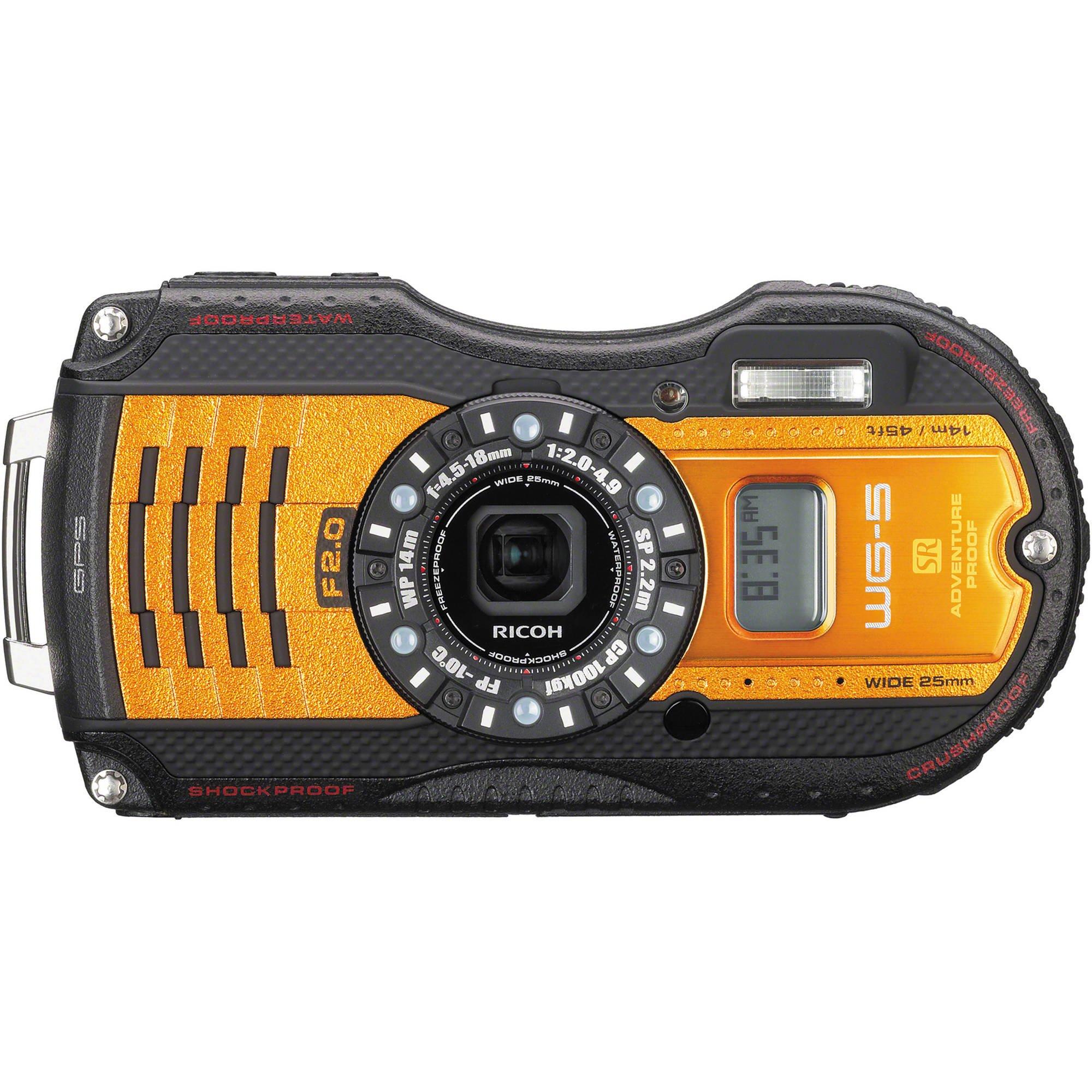 RICOH WG-5 GPS Outdoor kit oranžový