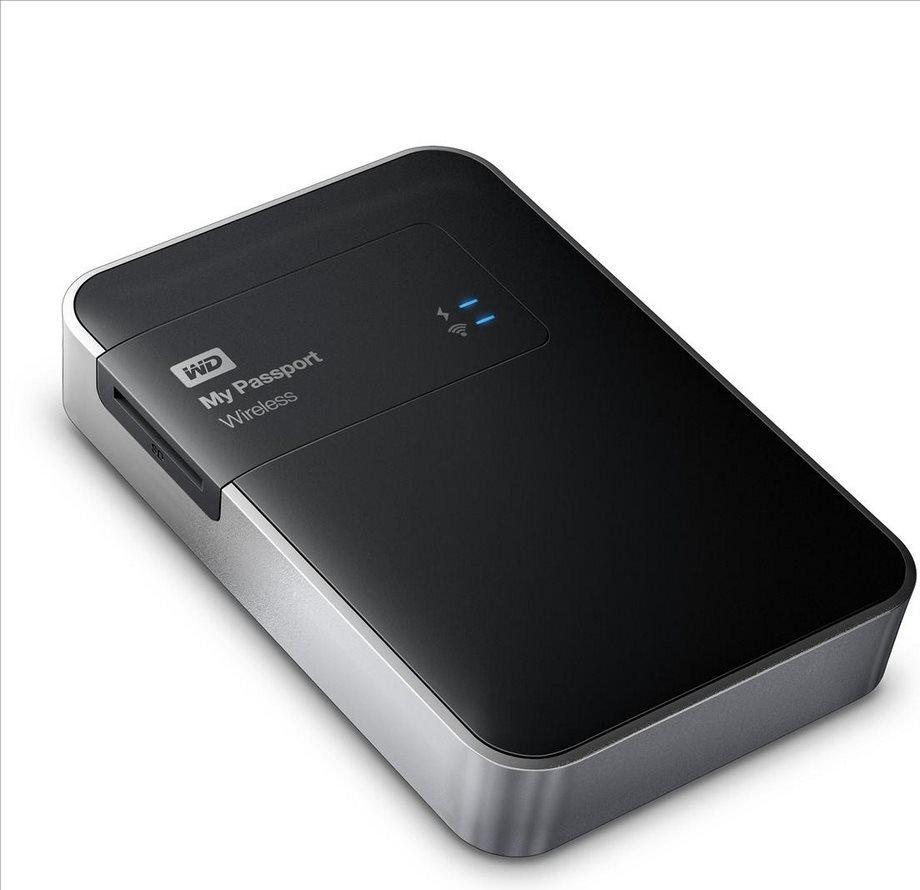 """WD MY PASSPORT Wireless 2TB Ext. 2.5"""" USB3.0, černý"""
