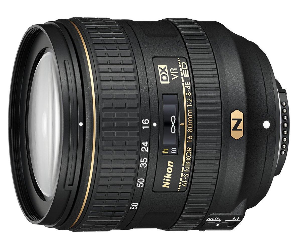 NIKON 16-80 mm f/2,8-4,0E AF-S DX ED VR
