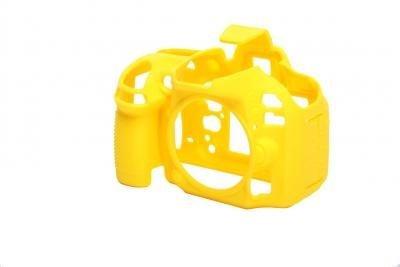 EASYCOVER silikonové pouzdro pro Nikon D5500 žluté