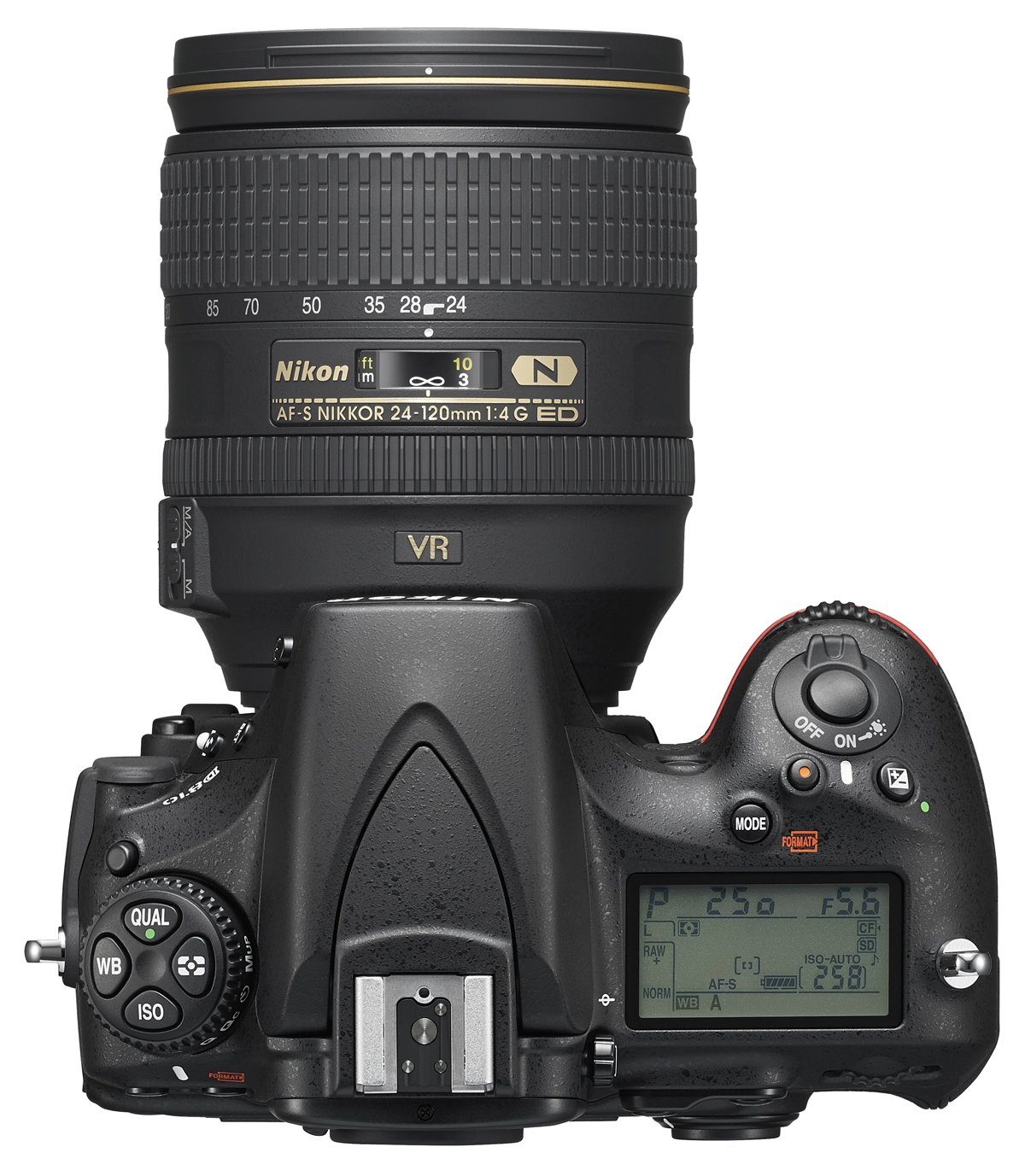 NIKON D810 + 24-120 mm VR + NIKON PowerBank
