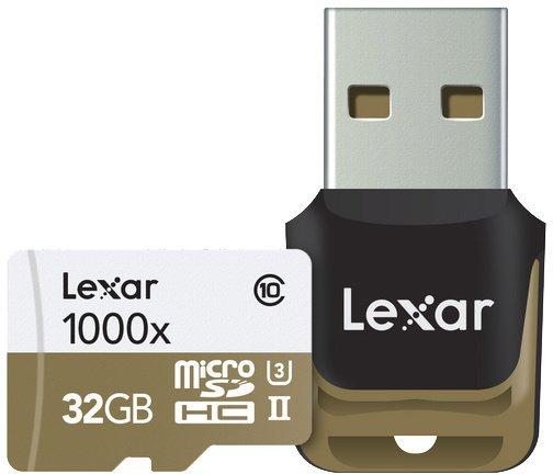 LEXAR microSDHC 32GB UHS-II 1000x s čtečkou USB