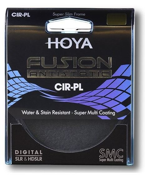 HOYA filtr polarizační cirkulární FUSION ANTISTATIC 37 mm
