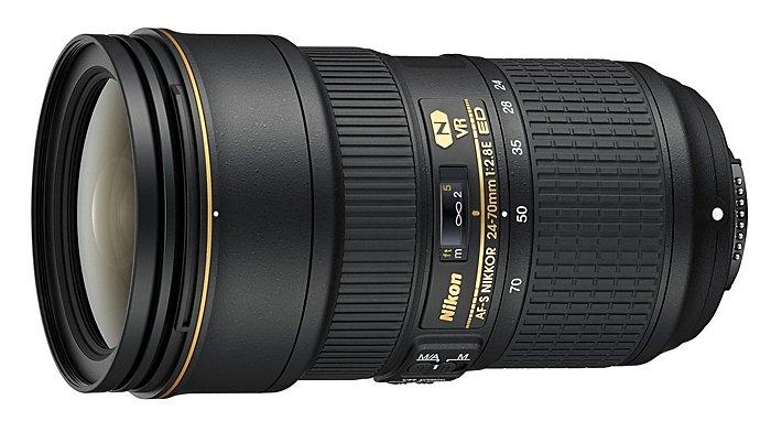 NIKON 24-70 mm f/2,8E ED VR