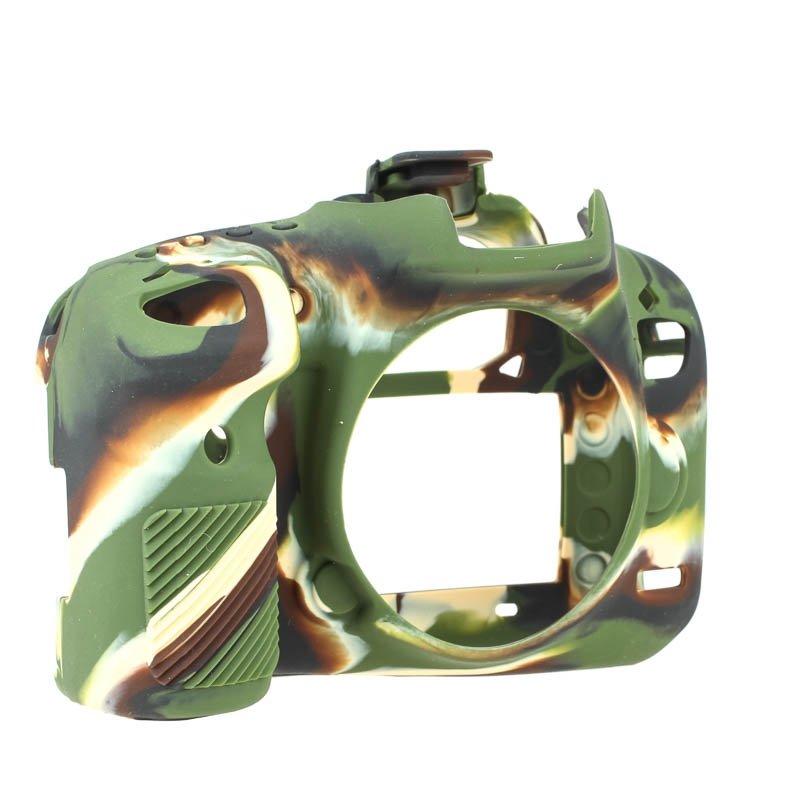 EASYCOVER silikonové pouzdro pro Canon EOS 750D camouflage