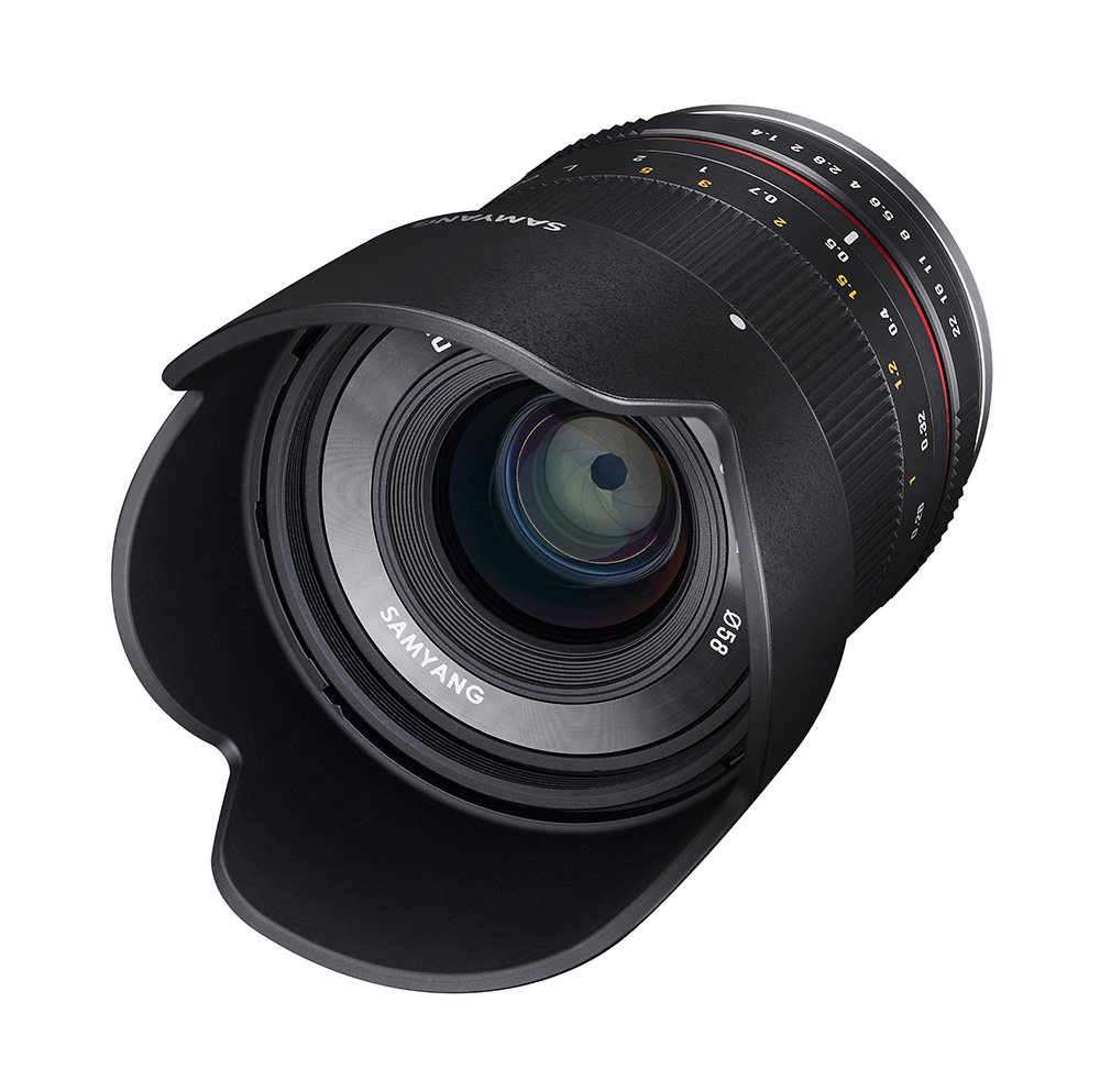 SAMYANG 21 mm f/1,4 ED AS UMC CS pro Canon EOS M černý